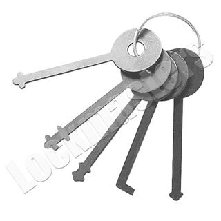 Picture of Warded Padlock Pick Set