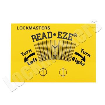 Picture of Lockmasters' Read Eze II Refill Strips