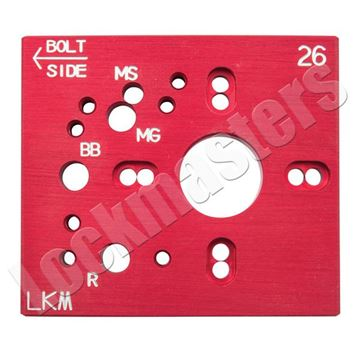 Picture of S&G 2740 A&B Aluminum Drill Template