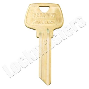 """Picture of Sargent 6 Pin Key Blank - All """"R"""" Sections"""