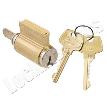 "Picture of Sargent Cylinder Only ""RJ"" Keyway"