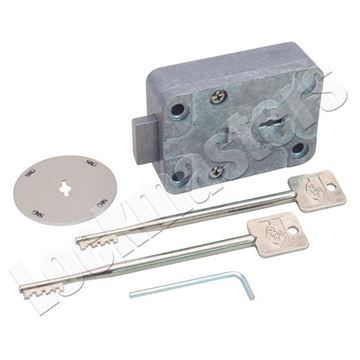 Picture of S&G 6804 Key Operated Safe Lock with Escutcheon, Key Retaining
