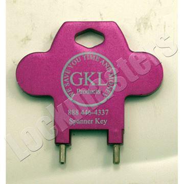 Picture of GKL Bridge Spanner Key