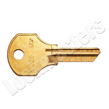 Picture of CCL Key Blank - 50 Pack