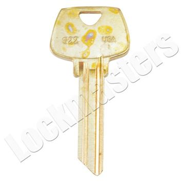 Picture of Taylor Sargent Key Blank - Pack of 50
