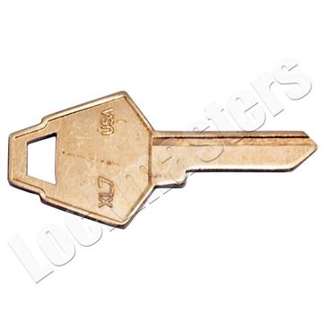 Picture of XL Lock Key Blank - 50 Pack
