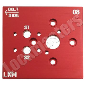 Picture of LaGard Swing Bolt Aluminum Drill Template