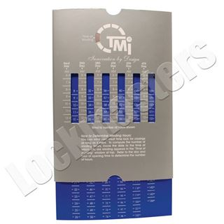 Picture of Magnetic Time Lock Winding Chart