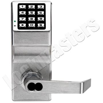 Picture of Trilogy Push Button Removable Core Lock - 26D Finish