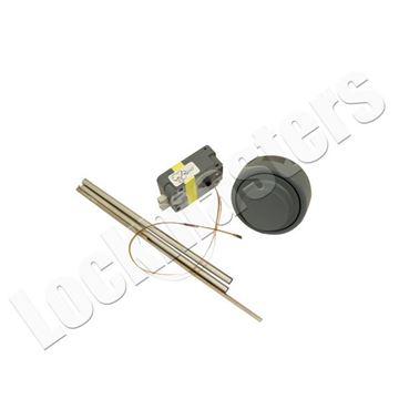 """Picture of Kaba Mas X10 Combination Lock for 10"""" Door"""