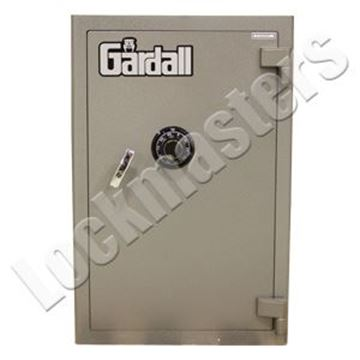 "Picture of Gardall ""B"" Rated 30"" W x 19""H x 23"" D Money Chest with S&G Group II Mechanical Lock"
