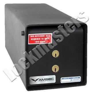 Picture of AMSEC K2 Model Under Counter Safe