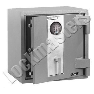 "Picture of AMSEC 19-1/2"" H x 19-1/2 W x 16 1/4"" D DXE Series TL-15 High Security Plate Safe with an AMSEC ESL10 Electronic Lock"
