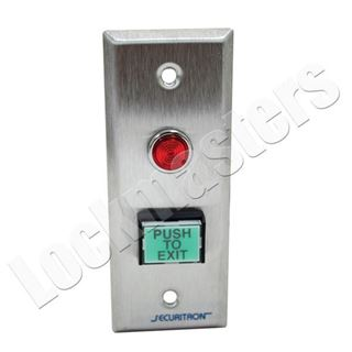 Picture of Securitron Exit Push Button DP PB3