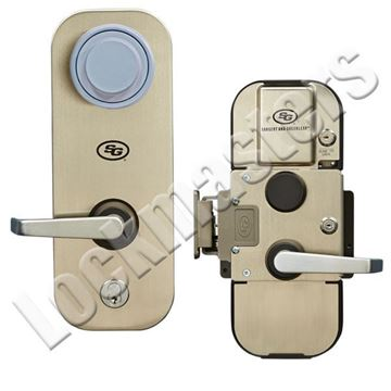 Picture of S&G 2890 Pedestrian Door Pre-assembled Lever