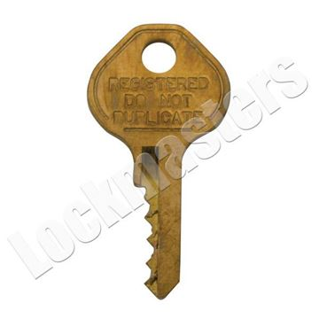 Picture of Master Lock Model K1525 Control Key for 1525 Combination Padlocks