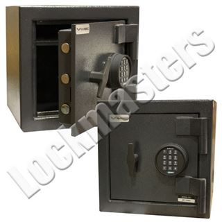 """Picture of AMSEC 13-3/4"""" H x 13-3/4"""" W x 11"""" D MS Series Safe with AMSEC ESL15 Electronic Lock"""