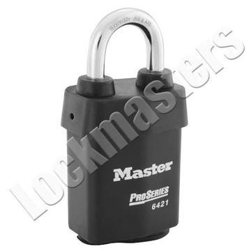 "Picture of Master Lock ProSeries Weather Tough Padlocks - 2 1/8"" Wide Body - Select Padlock"