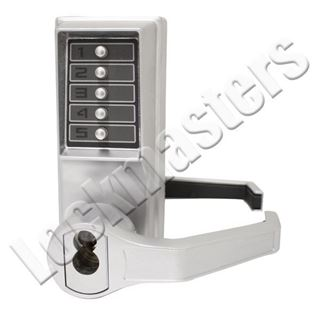 Picture of Dorma Kaba Simplex  L1000 Series Mechanical Door Lock with Key Override; LFIC Schage Keyway; Left Hand