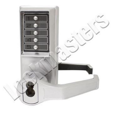 Picture of Dorma Kaba Simplex  L1000 Series Mechanical Door Lock with Key Override; LFIC Schage Keyway; Left Hand