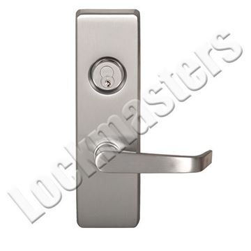 "Picture of Precision Olympian Series 4900 Trim with ""A"" Lever Trim for Exit Devices; Classroom - Left Hand Reverse"