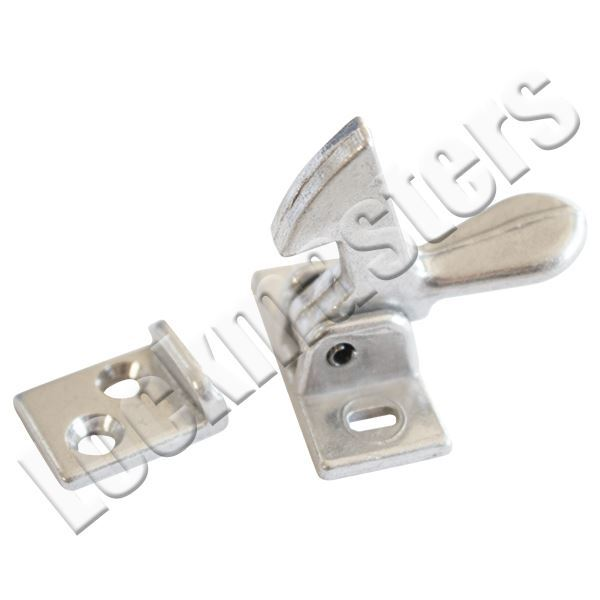 Lockmasters. IVES Elbow Cabinet Latch; Aluminum; 2A92