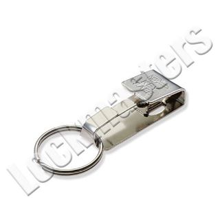 Picture of Lucky Line 476 Key Safe Belt Clip; Nickel Plated