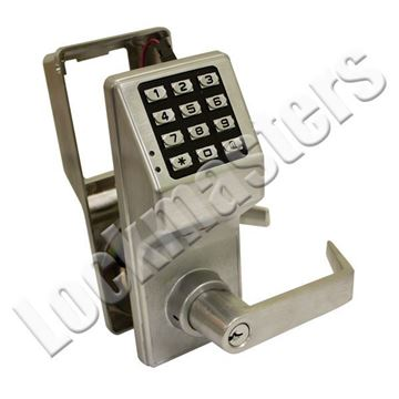 Picture of Alarm Lock DL2800 Series Trilogy Lock Finish Satin Chrome