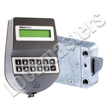 Picture of Tecnosicurezza MiniTech Series  Rototbolt Lock Package; BGray Keypad