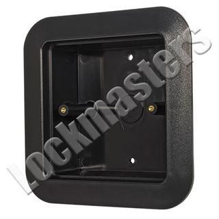 "Picture of BEA Inc. 4.5"" Square Push Plate Flush Mount Box"