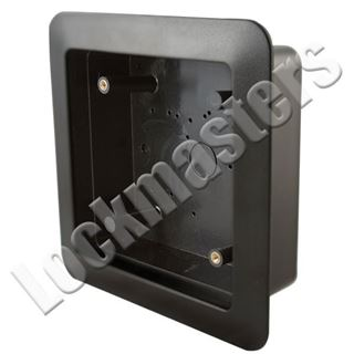 "Picture of BEA Inc 4.75"" Square Push Plate Flush Mount Box"