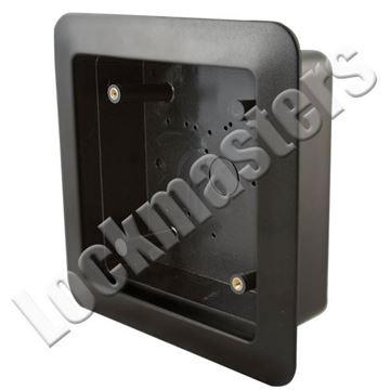 "Picture of BEA Inc 4.75"" Square Push Plate Flush Mount Box"