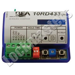 Picture of BEA Inc 433 MHz Wireless Extended Hold Time Receiver