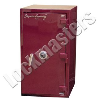 "Picture of AMSEC BF Series 39-1/4"" H x 21-3/4"" W x 21-3/4"" D  Fire & Burglary Safe with AMSEC Mechanical Lock"
