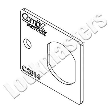 Picture of COMPX CAM LOCK MOUNTING PLATE C2014-2C
