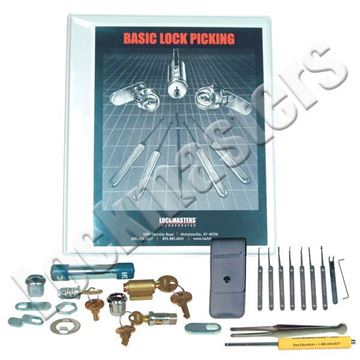 Picture of Basic Lock Picking Course Includes Instructional Manual, Tools and Equipment