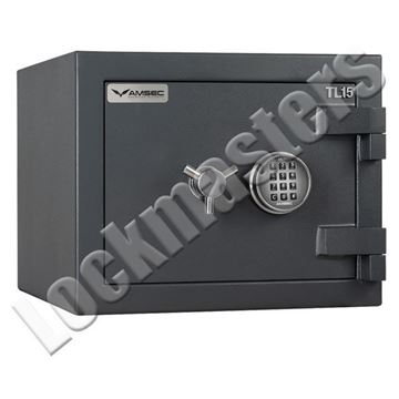 "Picture of AMSEC Max 15 High Security UL Listed TL-15 Composite Safe: 15-7/8""H x 19-3/4"" W x 19-3/8""D"
