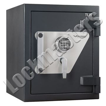 "Picture of AMSEC Max 15 High Security UL Listed TL-15 Composite Safe: 23-1/2""H x 19-1/2"" W x 21-7/8""D; ESL10XL Lock"