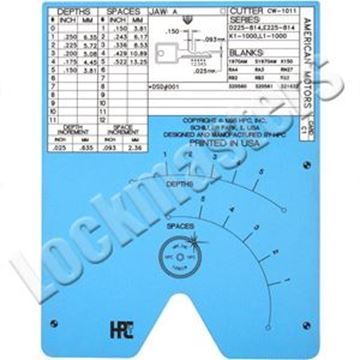 Picture of Blitz & Switch Blitz  Code Card Ford Aspire (Kia) 10 Cut (B Series)