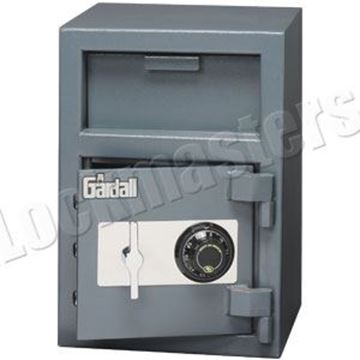 """Picture of Gardall 20""""H x 14""""W X 14""""D Undercounter Depository Safe with S&G Group II Combination Lock"""