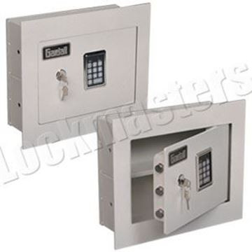 """Picture of Gardall Concealed 4"""" Wall Safe with Push Button Electronic Lock"""