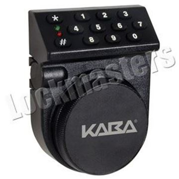 Picture of Kaba Mas Auditcon Model 52 Time Delay Standard Bolt Lock Package - Vertical Keypad