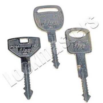 Picture of Picking Keys for Chrysler, Ford and GM 1994+