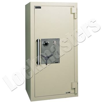 """Picture of AMSEC AMVault TL-30 55"""" x 24"""" Composite Safe with UL Group II Combination Lock"""