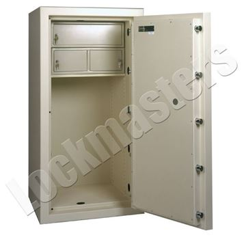 """Picture of AMSEC AMVault T-30 65"""" x 28"""" Composite Safe with UL Group II CombinationLock"""