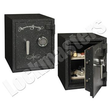 "Picture of AMSEC UL Listed 2 Hour Fire Rated 15-1/2"" x 11-1/2"" Safe with AMSEC ESL10 Lock"