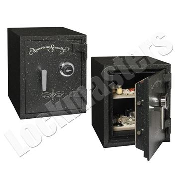 "Picture of AMSEC UL Listed 2 Hour Fire Rated 15-1/2"" x 11-1/2"" Safe with UL Group II Lock"