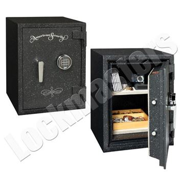 """Picture of AMSEC UL Listed 2 Hour Fire Rated 18-1/2"""" x 12"""" Safe with UL Group II Lock"""
