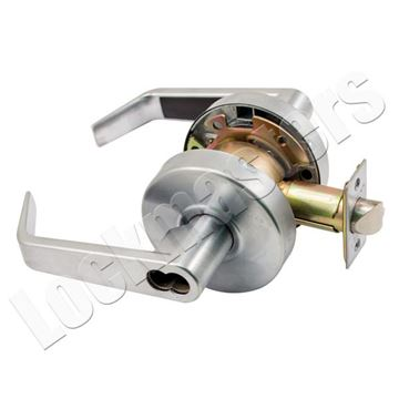 Picture of Arrow RL Series Entry Cylindrical Lockset; Sierra Lever; Satin Chrome