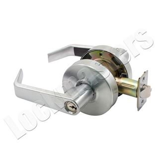 Picture of Arrow RL Series Entry Cylindrical Lock; Sierra Lever; Satin Chrome